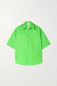 Rebecca Vallance - Francesca Belted Textured-crepe Midi Dress - Coral