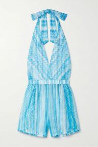 Fendi - Intarsia-knit Cotton-blend Midi Skirt - Red