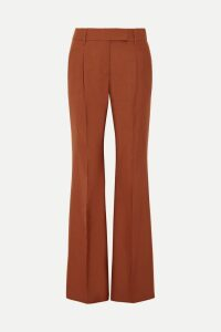 Burberry - Patchwork Shearling Coat - Beige
