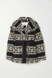 Emilia Wickstead - Shirred Floral-print Crepe De Chine Midi Dress - Baby pink