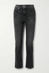 Burberry - Printed Silk-satin Twill Shirt - Red