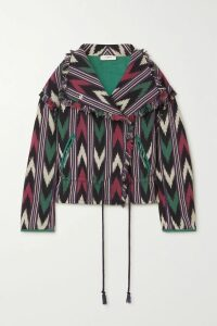 Goldsign - The A Denim Midi Skirt - Dark denim