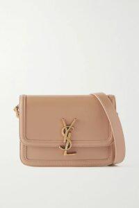BERNADETTE - Florence Gingham Silk-satin Midi Dress - Black