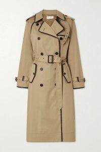 Diane von Furstenberg - Hatsu Paneled Color-block Silk Crepe De Chine Mini Dress - Navy