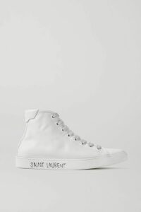 Saloni - Isabel Ruffled Printed Silk-georgette Midi Dress - Pink