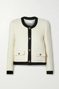 Marni - Floral-print Stretch-crepe Dress - Navy