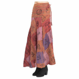 Couleurs Du Monde  Skirt  women's Skirt in Red