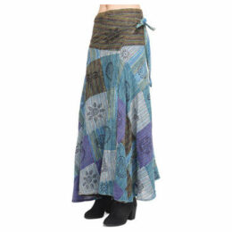Couleurs Du Monde  Skirt  women's Skirt in Blue