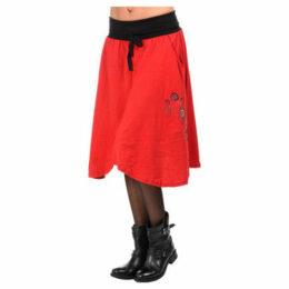 Couleurs Du Monde  Short skirt  women's Skirt in Red