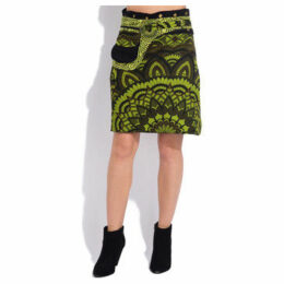 Couleurs Du Monde  Skirt  women's Skirt in Green
