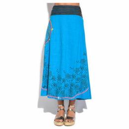 Couleurs Du Monde  Skirt  women's Skirt in Blue