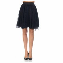 Tantra  Short skirt in tulle  women's Skirt in Black