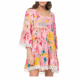 Tantra  Floral print dress  women's Dress in Pink