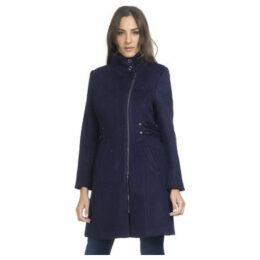 Tantra  Coat 3/4 length  women's Coat in Blue