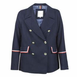 Tommy Hilfiger  MADISON PEACOAT  women's Coat in Blue