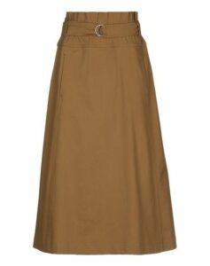 GOLD CASE SKIRTS 3/4 length skirts Women on YOOX.COM