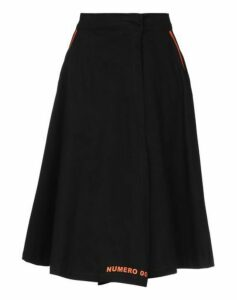 NUMERO 00 SKIRTS 3/4 length skirts Women on YOOX.COM
