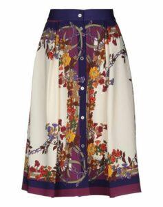 BIANCOGHIACCIO SKIRTS Knee length skirts Women on YOOX.COM