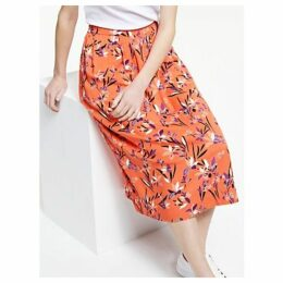 ARMEDANGELS Thelma Floral Print Skirt, Carrot