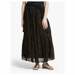 AND/OR Metallic Stripe Sicily Skirt
