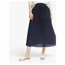 John Lewis & Partners Sun Ray Pleat Midi Skirt