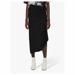 AllSaints Walla Gathered Skirt