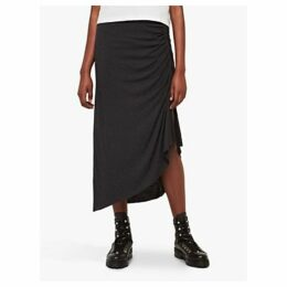 AllSaints Walla Gathered Skirt