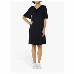 L.K.Bennett Twist Dress, Navy