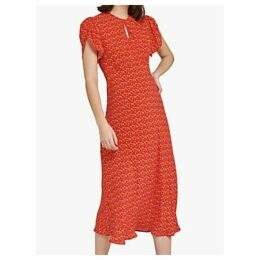 Ghost Pixie Ditsy Print Dress, Red