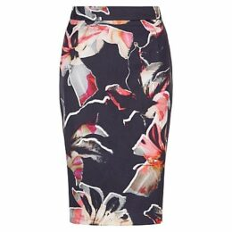 Fenn Wright Manson Lily Print Horizon Skirt, Multi