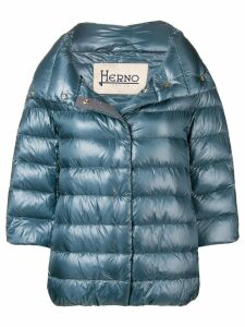 Herno padded feather down jacket - Blue