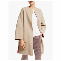Weekend MaxMara Drava Reversible Wool Coat, Antique Rose