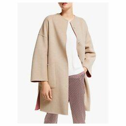 Weekend MaxMara Drava Reversible Wool Coat, Antique Rose