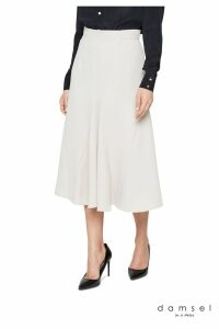 Womens Damsel In A Dress Neutral Ebony Tailored Skirt -  Natural