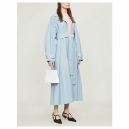 Emilia Wickstead x Woolmark Wallace belted wool trench coat