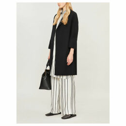 Arona single-breasted wool coat