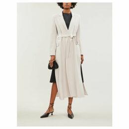 Tiberio wool-blend coat