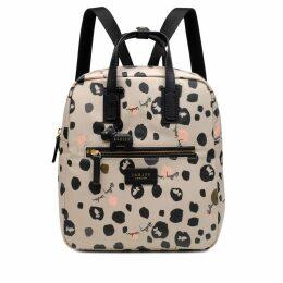 Bubble Dog Medium Zip Around Backpack