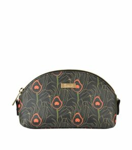 Nigella Peacock Print Cosmetic Bag