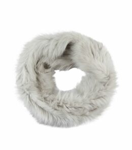 Long Rabbit Fur Snood