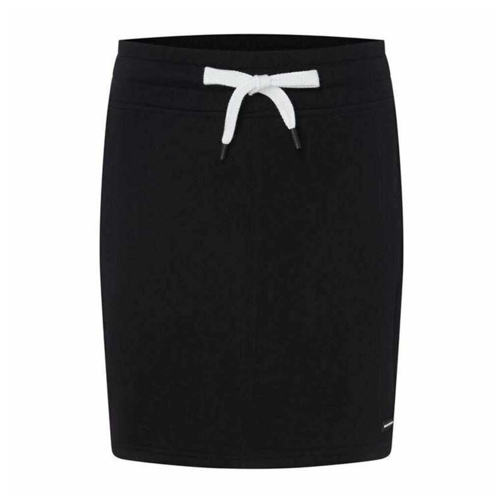 DKNY Solid Logo Skirt
