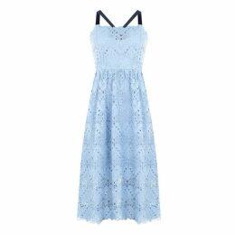 Perseverance Lace Dress - Pale Blue