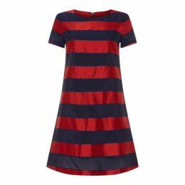 Gant Satin Stripe Dress