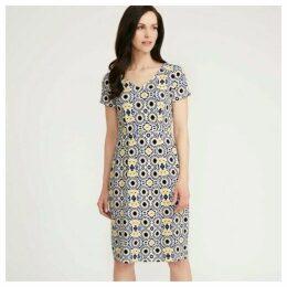 Mosaic Jersey Dress