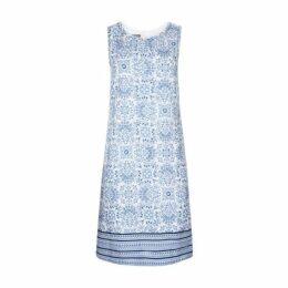 Kaleidoscope Linen Shift Dress