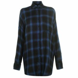 Kendall and Kylie Shirt - Navy/Black