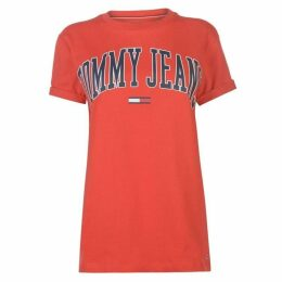 Tommy Jeans Tommy Collegiate T Shirt Womens