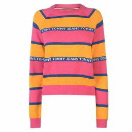 Tommy Jeans Tommy Tape Stripe Sweater Womens