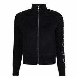 Karl Lagerfeld Zipped Hooded Sweatshirt