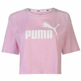 Puma Puma Essential Logo Crop T Shirt